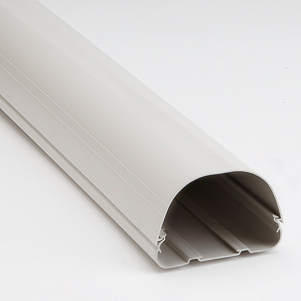 """Fortress LD122W 4-1/2"""" White Lineset Ducting"""