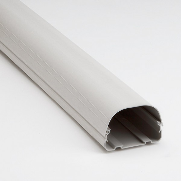 """Fortress LD92W 3-1/2"""" White Lineset Ducting"""