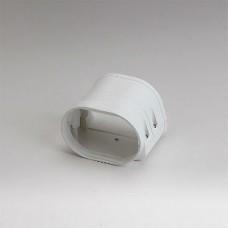 "Fortress LFJ92W 3-1/2"" White Flexible Adaptor"