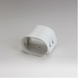 "Fortress LFJ92W 3-1/2"" White Flexible Adaptor"