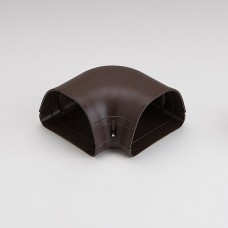 "Fortress LK122B 4-1/2"" 90 Degree Brown Flat Elbow"