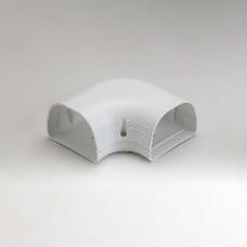 "Fortress LK92W 3-1/2"" 90 Degree White Flat Elbow"