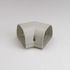 "Fortress LKF92I 3-1/2"" 45 Degree Ivory Flat Elbow"
