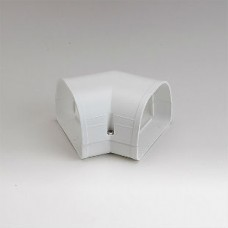 """Fortress LKF92W 3-1/2"""" 45 Degree White Flat Elbow"""