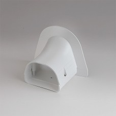"Fortress LP92W 3-1/2"" White Soffit Inlet"