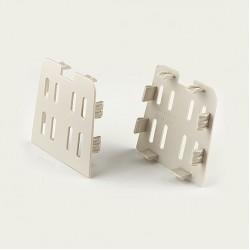 Polymer Ivory 4″ Riser End Cap (Pair)