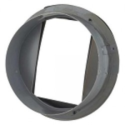 "Spacepak J Series 45AC-PAJ Plenum 9"" Round Sheet Metal Adapter"
