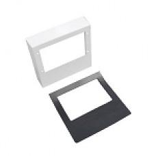"Spacepak 10"" x 10"" 45AC-PAJSQ Fiberboard Square Plenum Adapter for J Series"