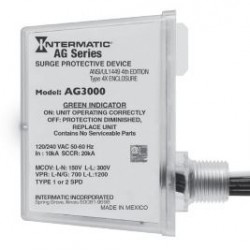 Intermatic AG3000 Surge Protective Device for HVAC Units - 120/240V