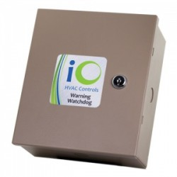 iO HVAC Controls iO-WWLP LOGIC PANEL WITH KEY LOCK, SIREN CUT-OFF TIMER AND SIREN SILENCE SWITCH